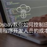 Osbay教你如何控制应用程序开发人员的成本