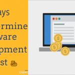 8 Ways to Determine Software Development Cost
