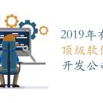 2019年有哪些顶级软件开发公司?