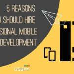 5 Reasons Why You Should Hire Professional Mobile Application Development Company